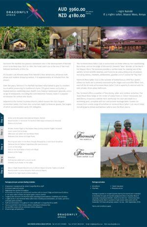 2019 Flyer 7 Marvellous Kenya AUD NZD
