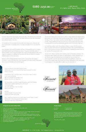 2019 Flyer 7 Marvellous Kenya EUR